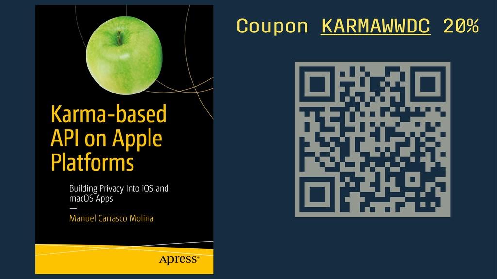 Coupon KARMAWWDC 20%
