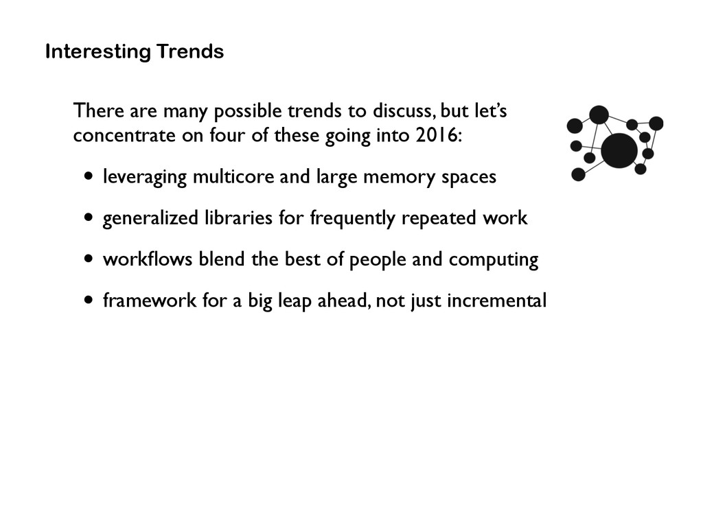 Interesting Trends There are many possible tren...