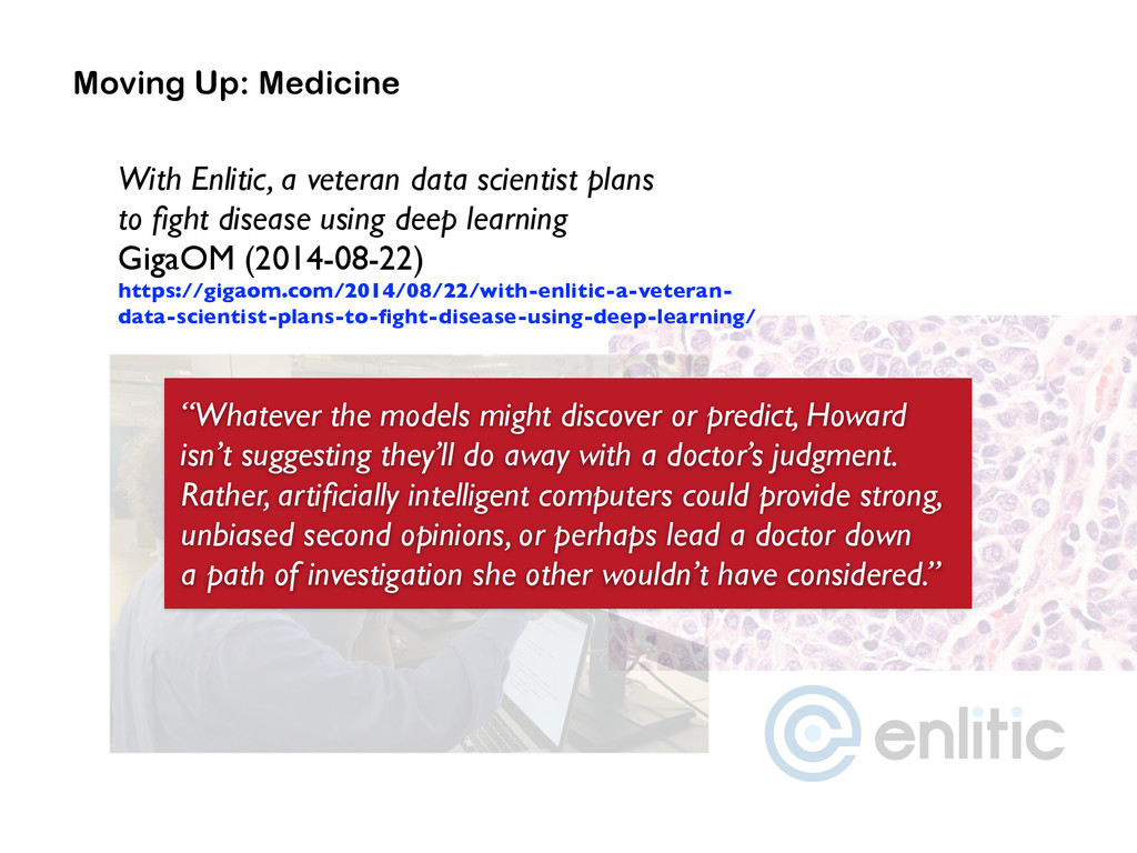 """Moving Up: Medicine """"Whatever the models might ..."""