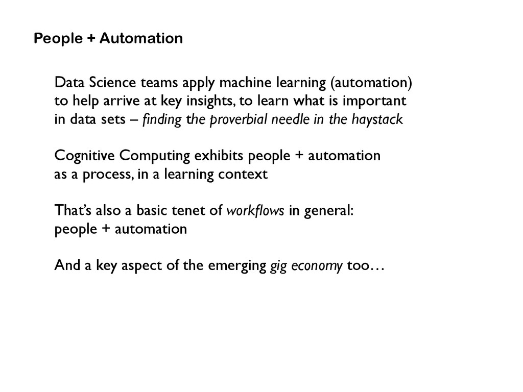 Data Science teams apply machine learning (auto...