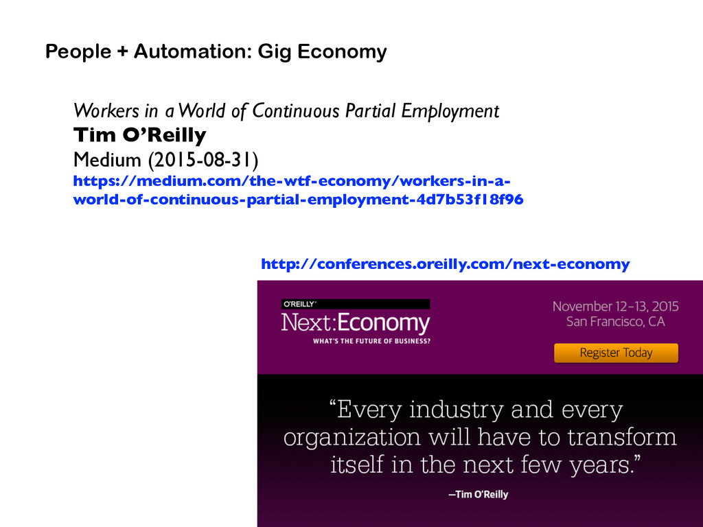 People + Automation: Gig Economy Workers in a W...