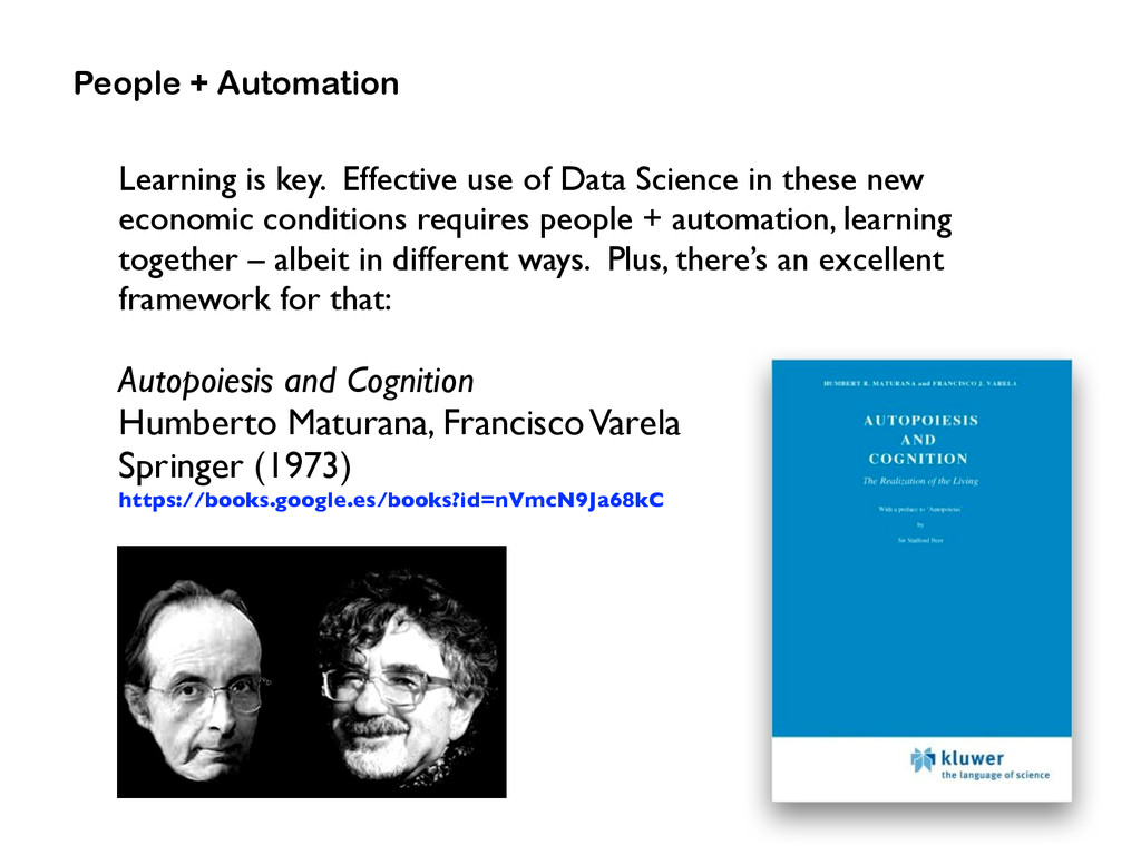 Learning is key. Effective use of Data Science ...