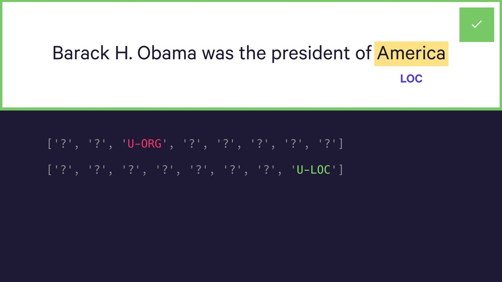 Barack H. Obama was the president of America LO...