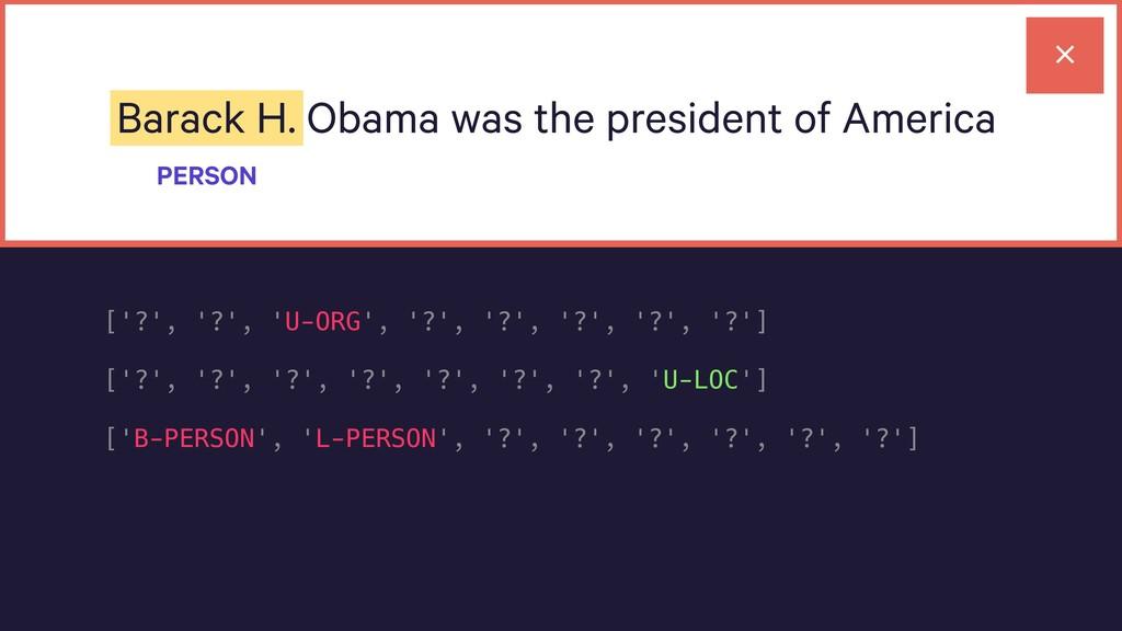 Barack H. Obama was the president of America PE...