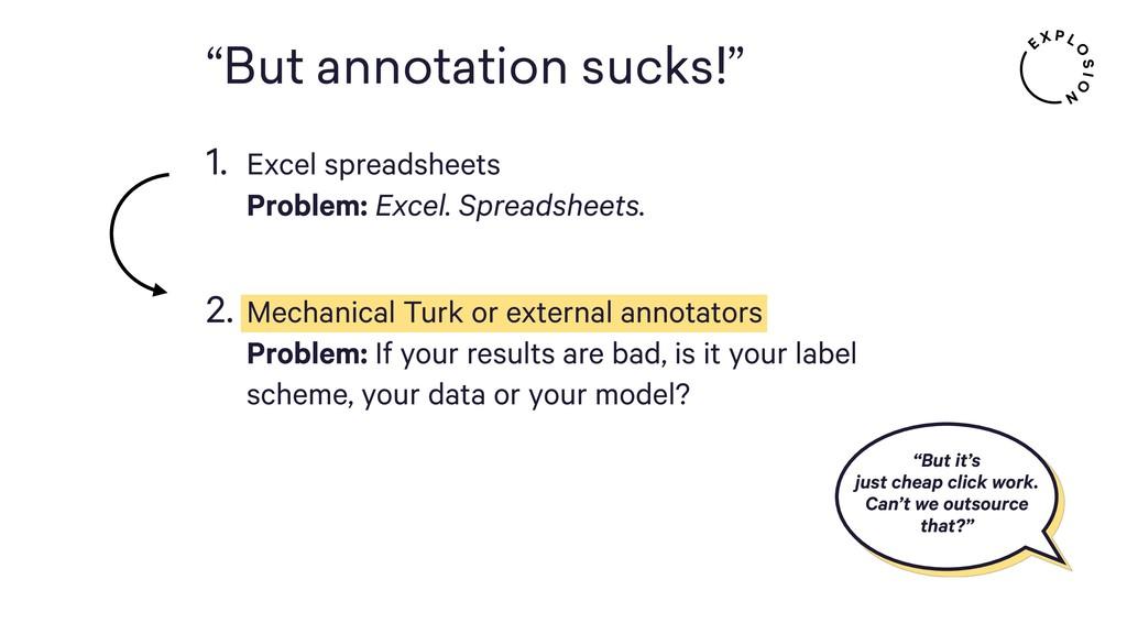 """But annotation sucks!"" ""But it's just cheap cl..."