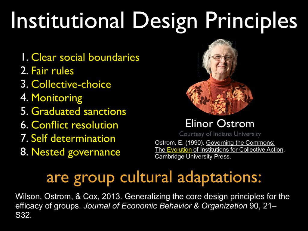 Ostrom, E. (1990). Governing the Commons: The E...