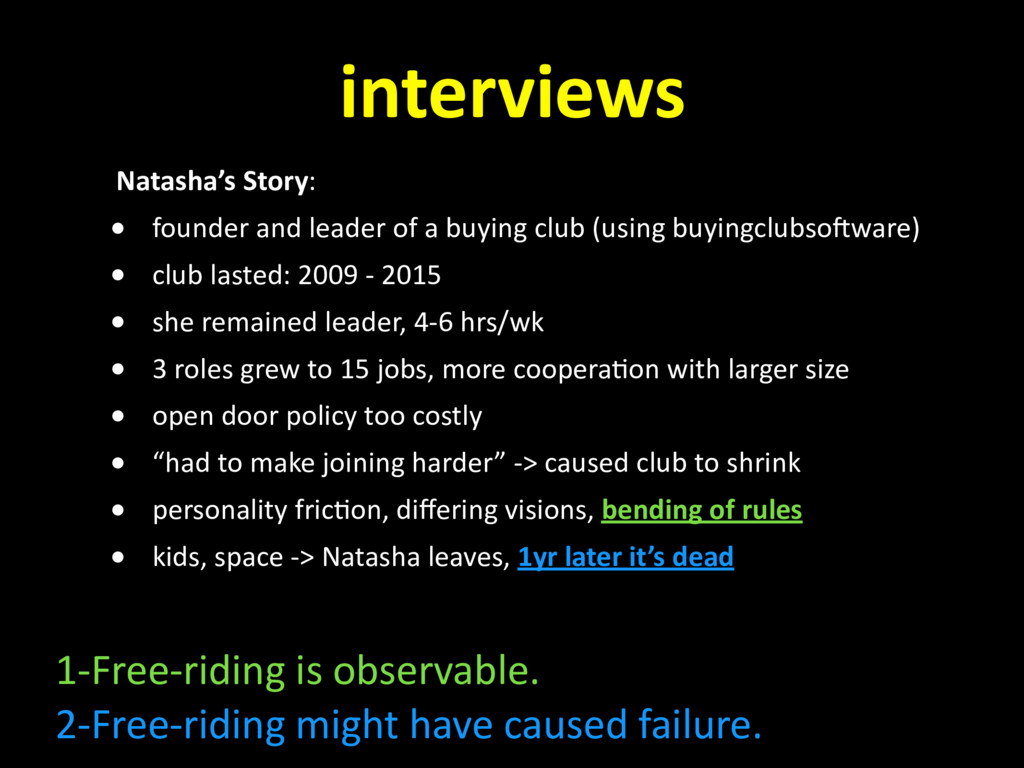 interviews Natasha's Story: • founder and leade...