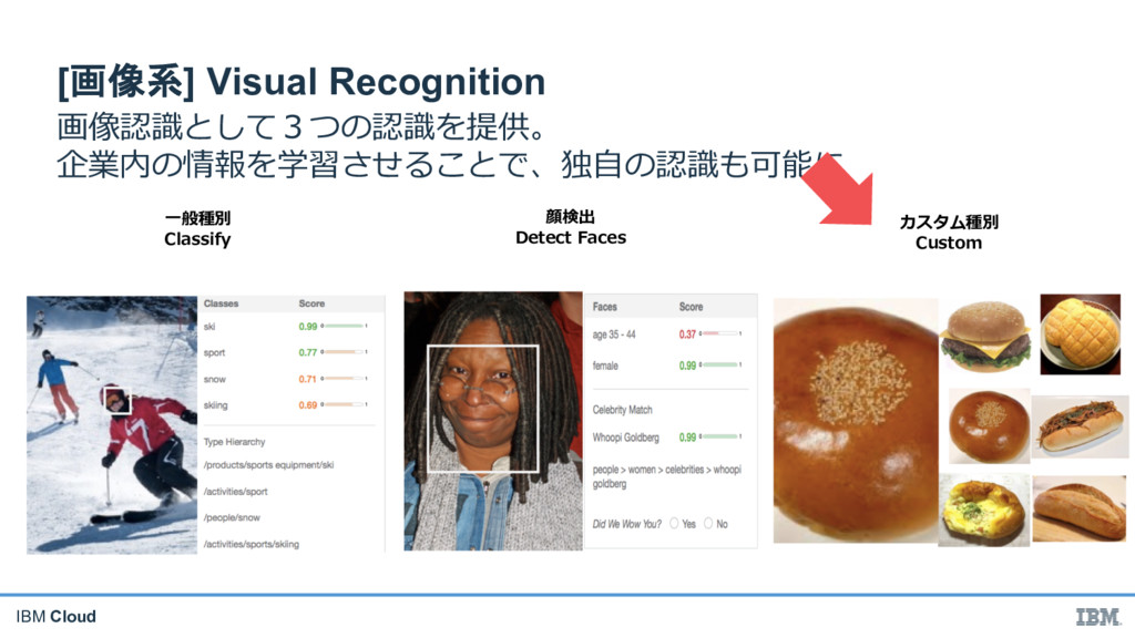 IBM Cloud  [] Visual Recognition %# ...