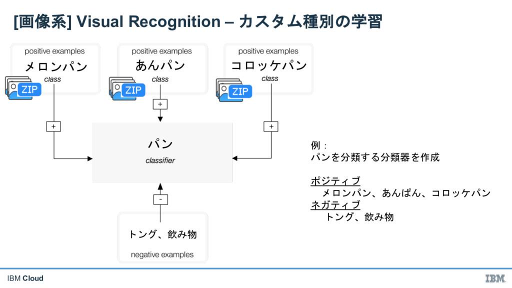 "IBM Cloud [' )] Visual Recognition – (""$* ..."