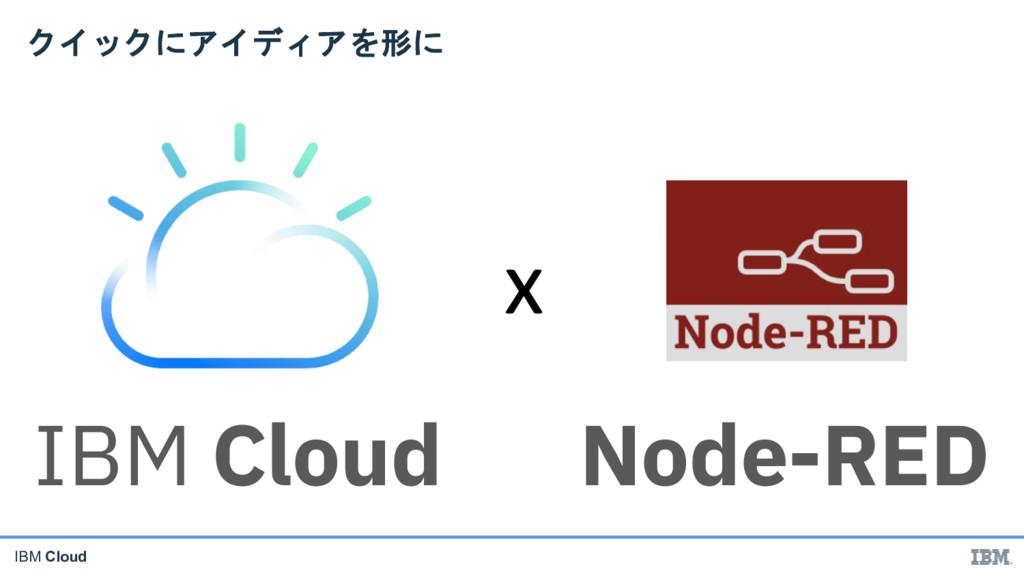 IBM Cloud   IBM Cloud Node-RED x