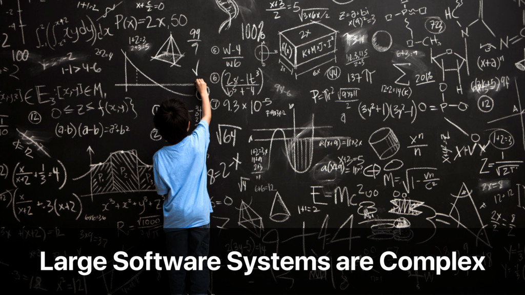 Large Software Systems are Complex