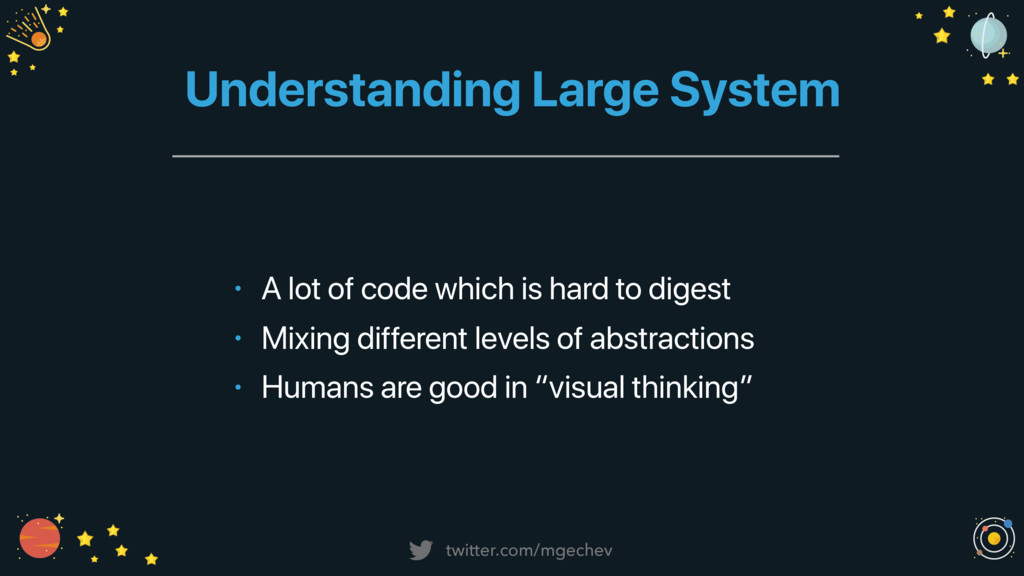 twitter.com/mgechev Understanding Large System ...