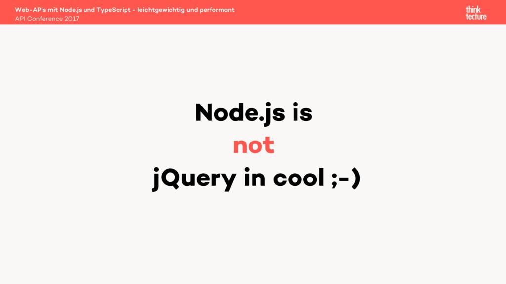 Web-APIs mit Node.js und TypeScript - leichtgew...