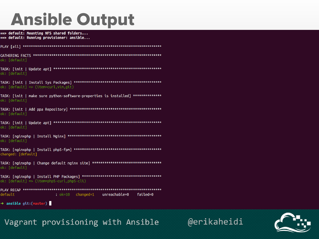 Ansible Output