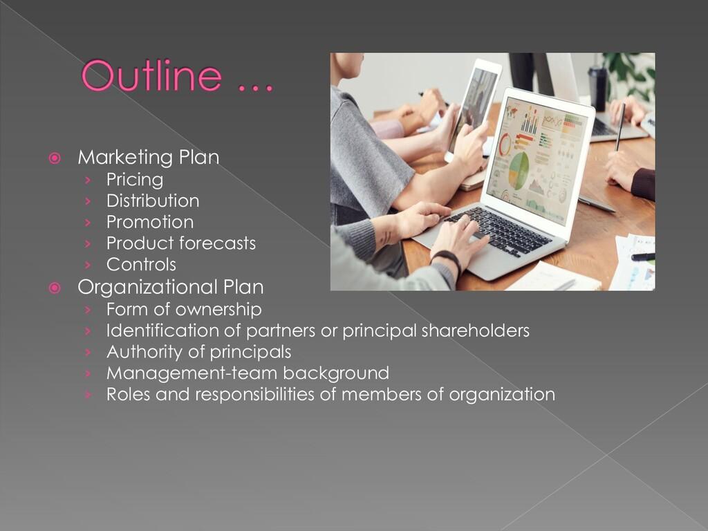  Marketing Plan › Pricing › Distribution › Pro...