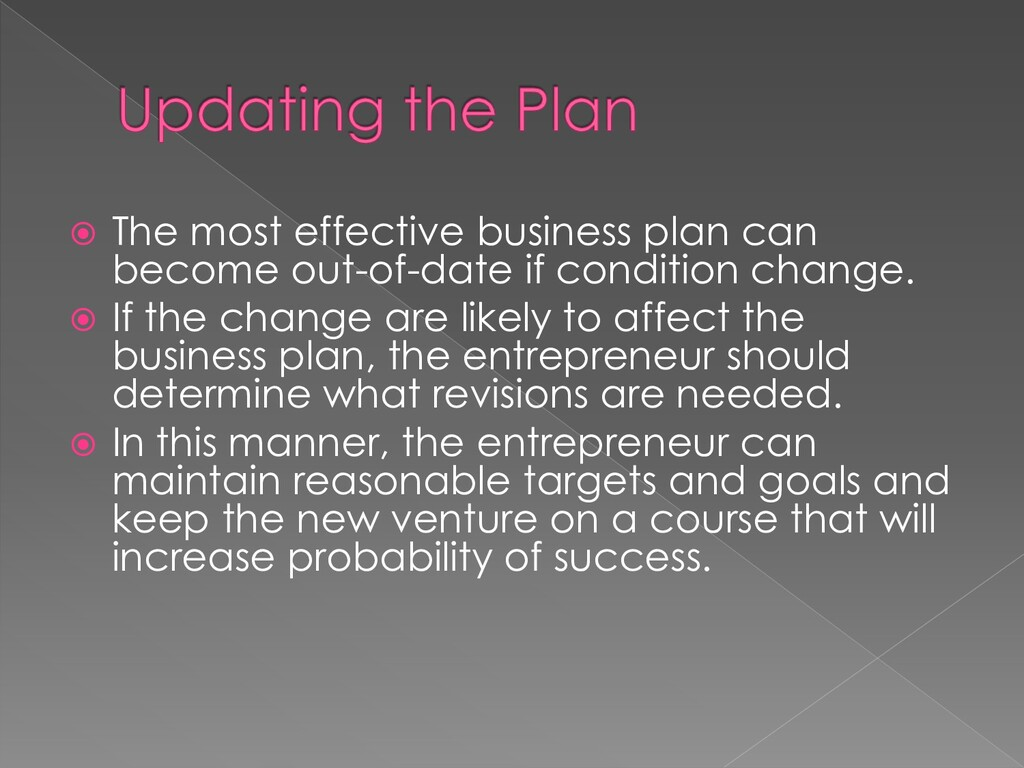  The most effective business plan can become o...