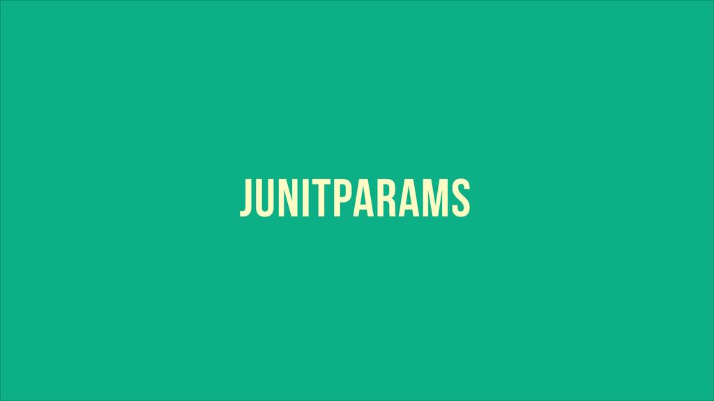 JUNITPARAMS