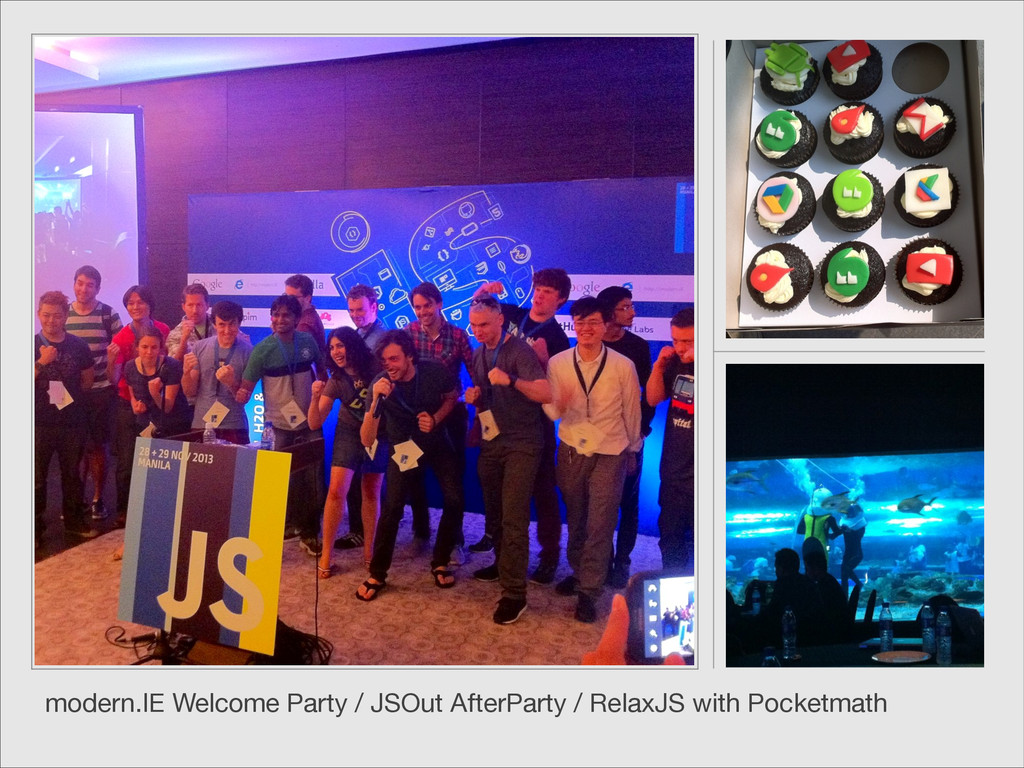 modern.IE Welcome Party / JSOut AfterParty / Re...