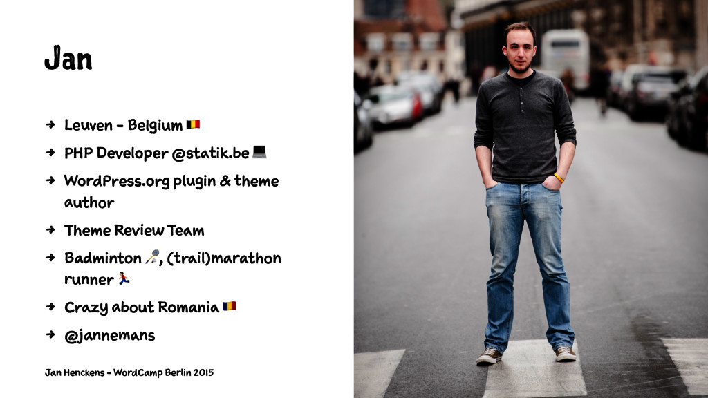 Jan 4 Leuven - Belgium ! 4 PHP Developer @stati...