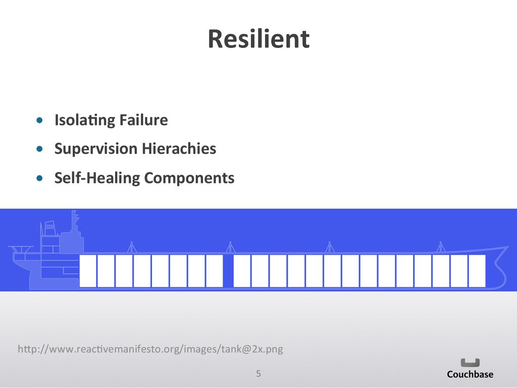 5  Resilient  • Isola6ng Failure  ...