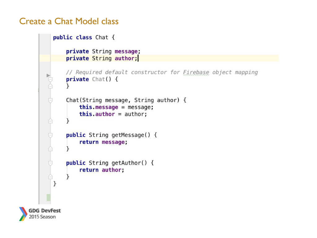 Create a Chat Model class