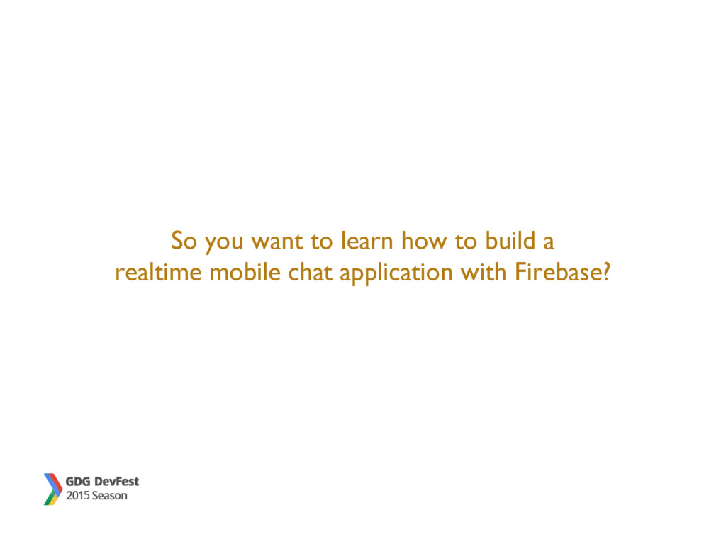 So you want to learn how to build a realtime mo...