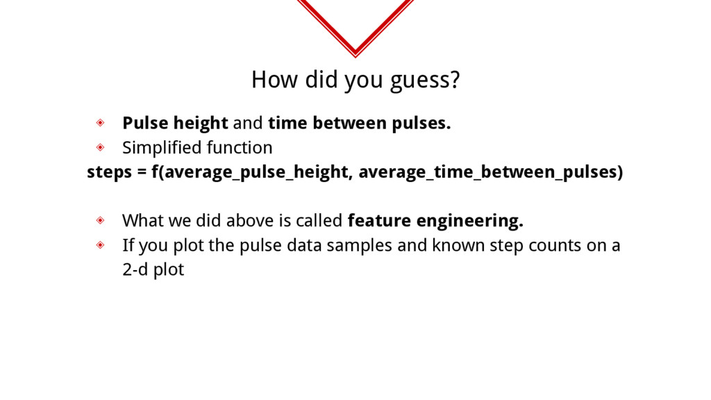 How did you guess? ◈ Pulse height and time betw...