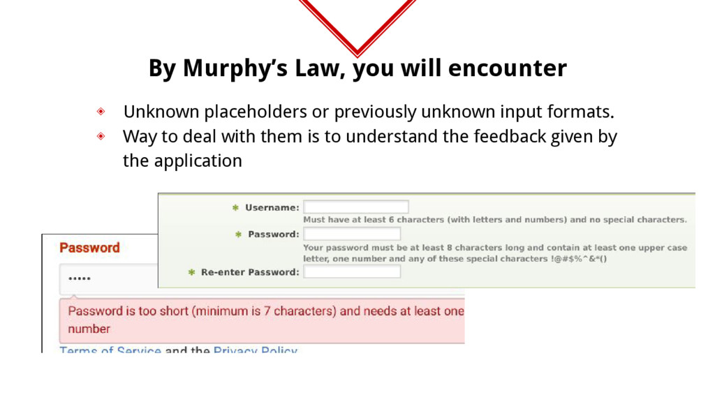 By Murphy's Law, you will encounter ◈ Unknown p...