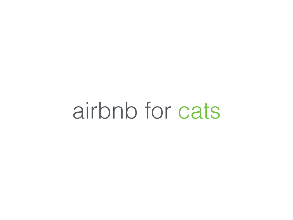 airbnb for cats