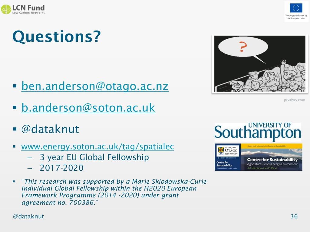 @dataknut Questions? § ben.anderson@otago.ac.nz...