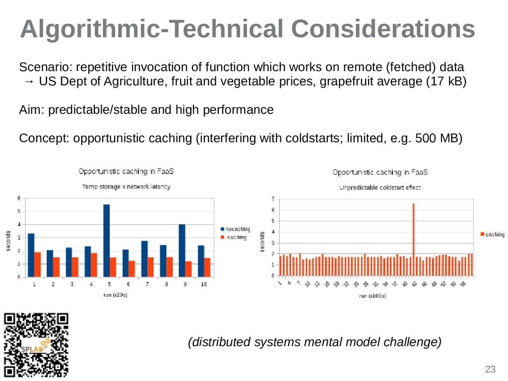 23 Algorithmic-Technical Considerations Sceniri...