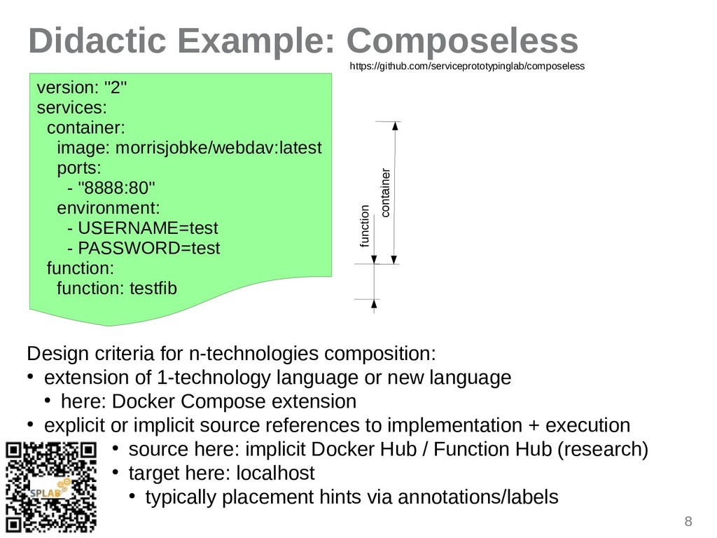 """8 Didactic Example: Composeless version: """"2"""" se..."""
