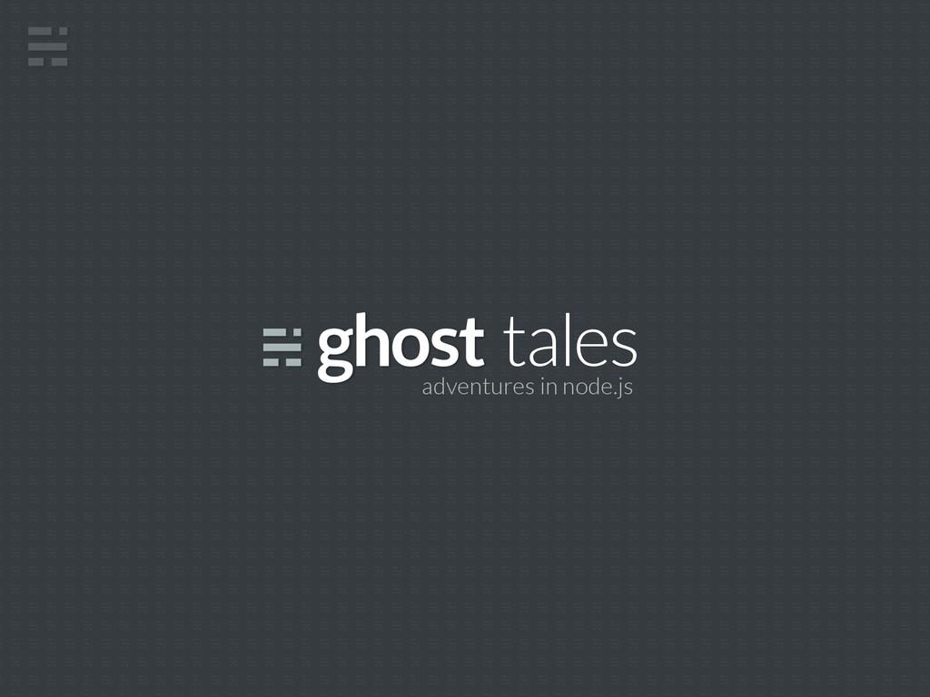 tales adventures in node.js