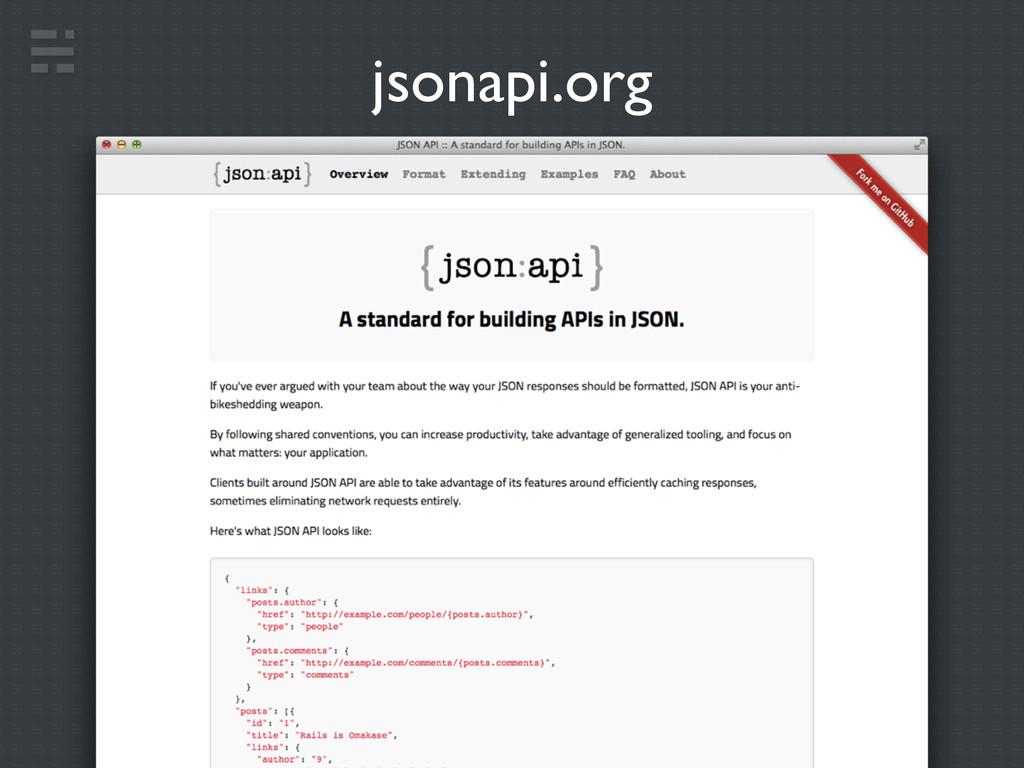 jsonapi.org
