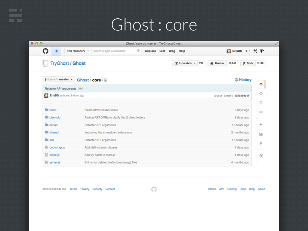 Ghost : core