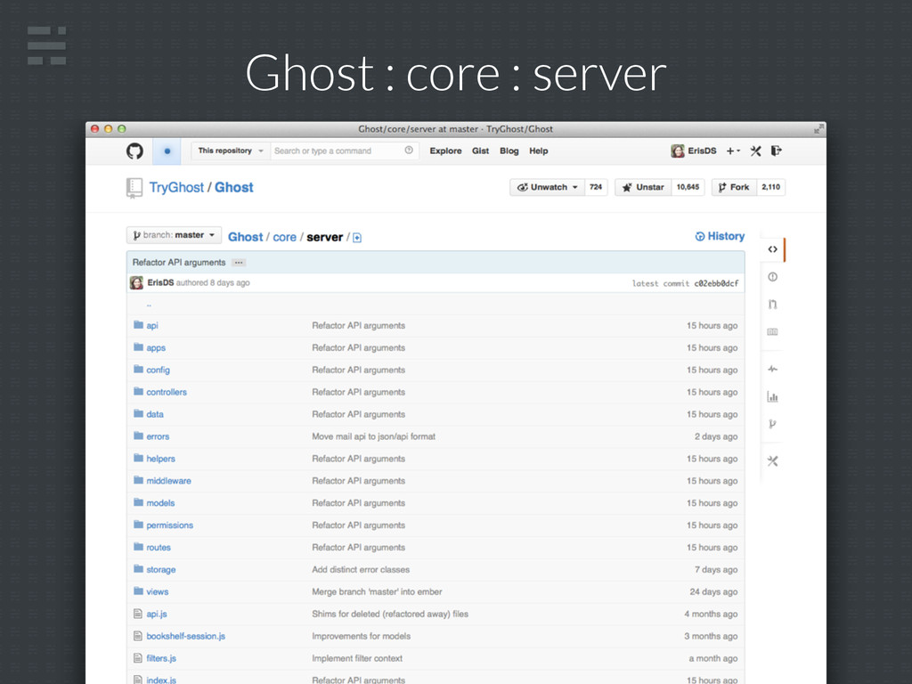 Ghost : core : server