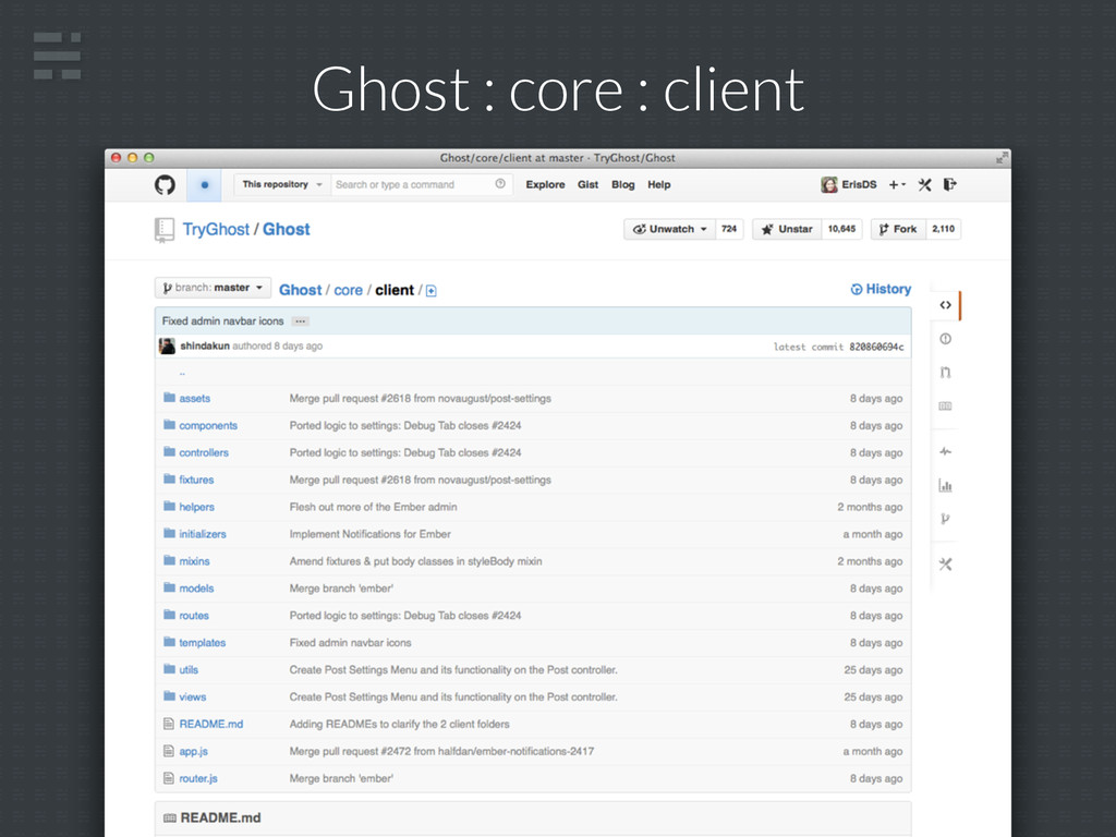 Ghost : core : client