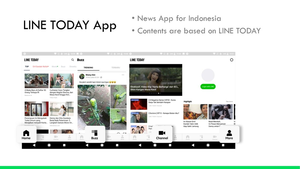 LINE TODAY App • News App for Indonesia • Conte...
