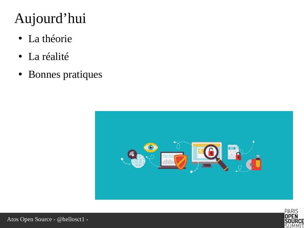 Atos Open Source - @hellosct1 - Aujourd'hui ● L...