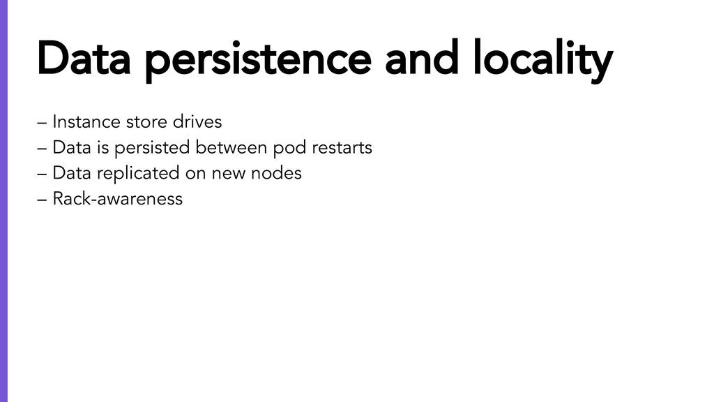 – Instance store drives – Data is persisted bet...