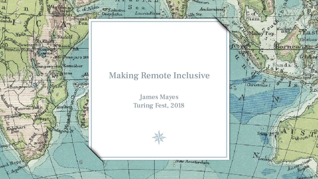 Making Remote Inclusive