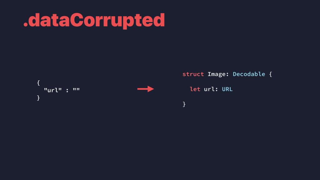 .dataCorrupted struct Image: Decodable { let ur...