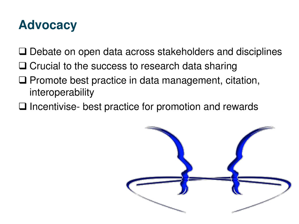 Advocacy  Debate on open data across stakehold...