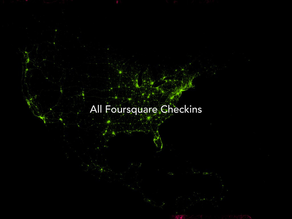 All Foursquare Checkins