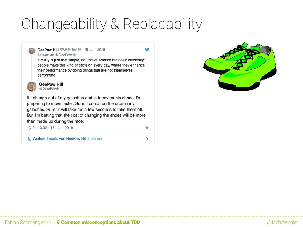 Changeability & Replacability GeePaw Hill @GeeP...
