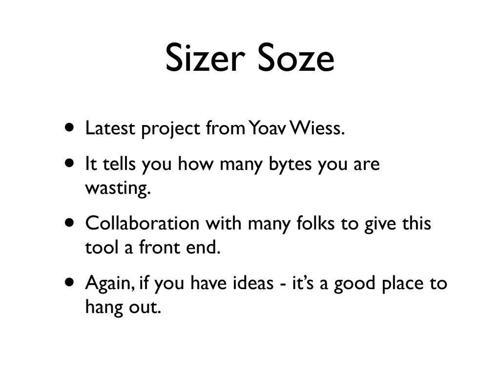 Sizer Soze • Latest project from Yoav Wiess. • ...