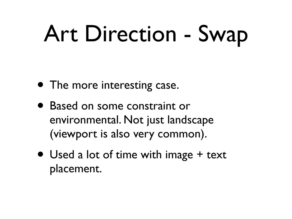 Art Direction - Swap • The more interesting cas...