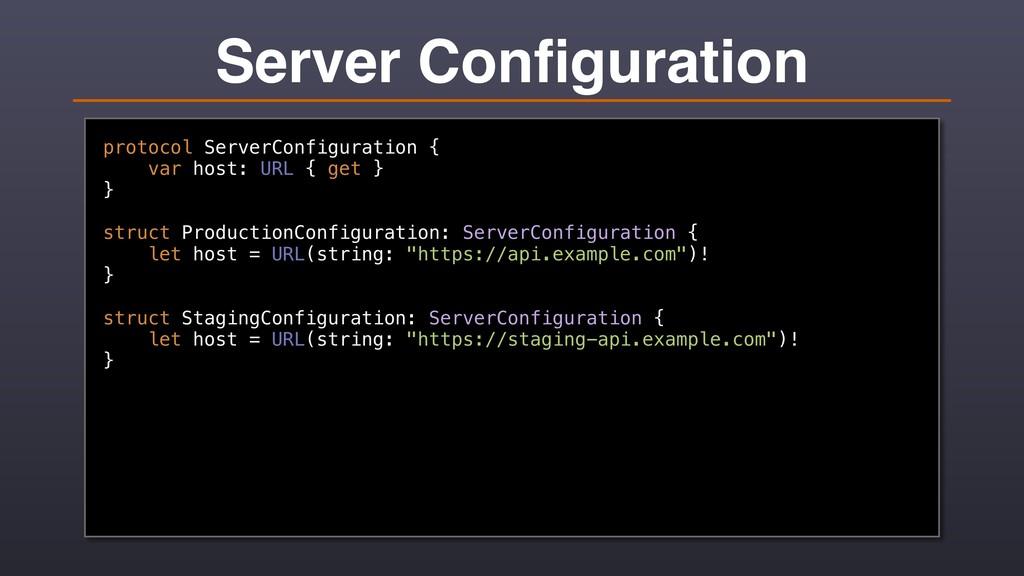 Server Configuration protocol ServerConfiguratio...