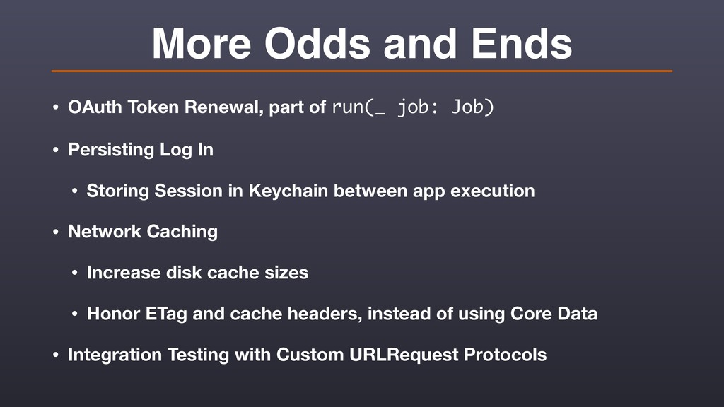More Odds and Ends • OAuth Token Renewal, part ...