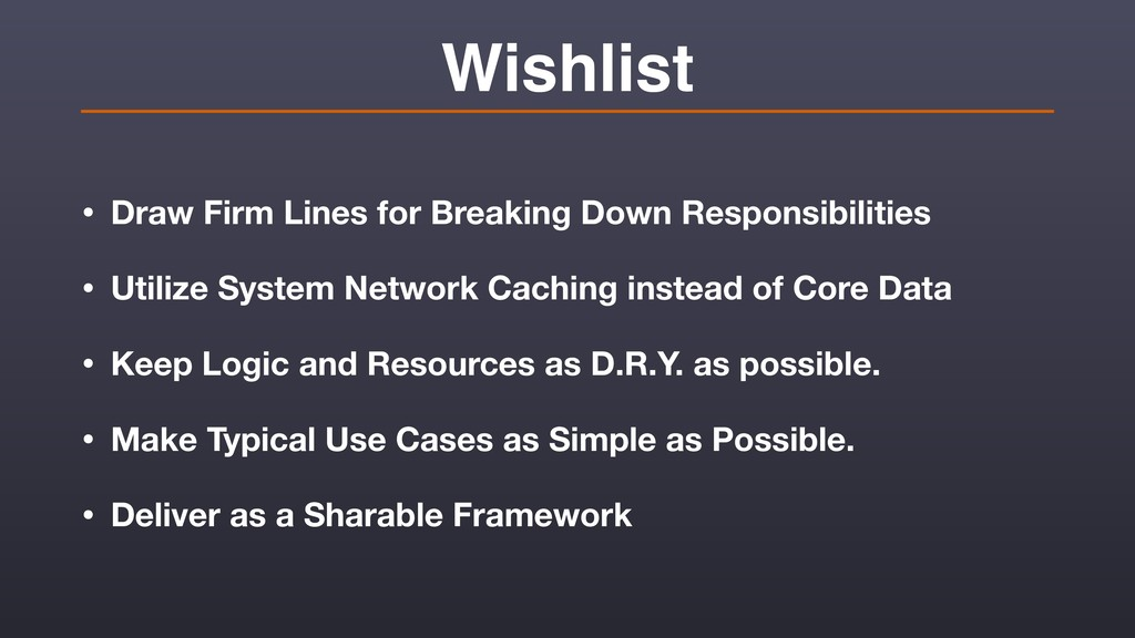 Wishlist • Draw Firm Lines for Breaking Down Re...